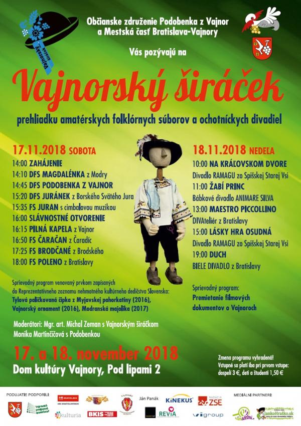 Vajnorský širáček 17.-18. november 2018