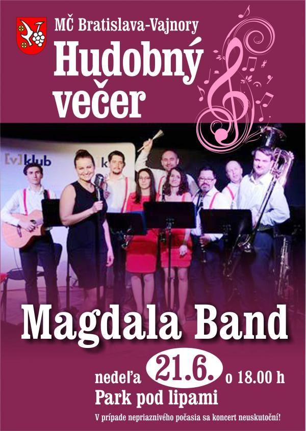 Hudobný večer - Magdala Band 21. júna 2020