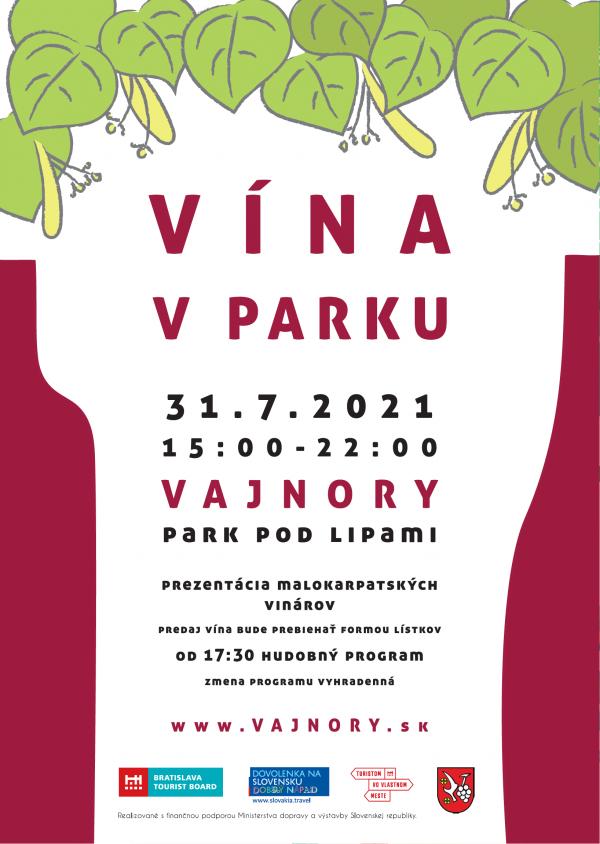 Vína v parku