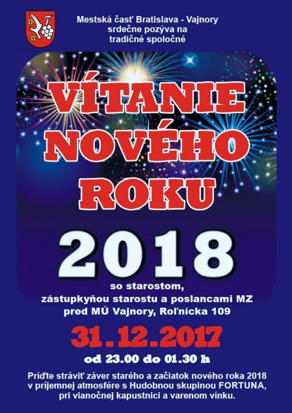 Vítanie nového roka 2018