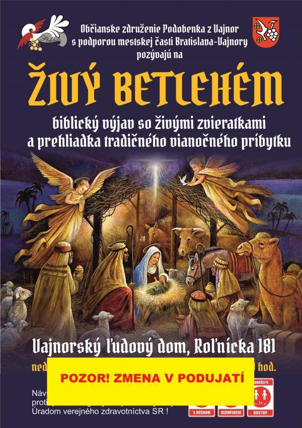 Živý betlehém