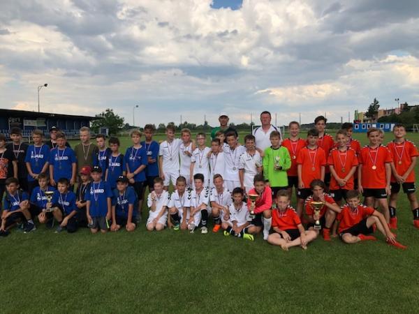Úspešný futbalový turnaj mladších žiakov U13