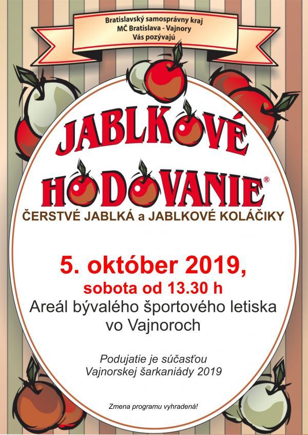 Jablkové hodovanie 5. októbra 2019