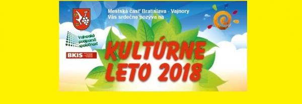 Kultúrne leto vo Vajnoroch