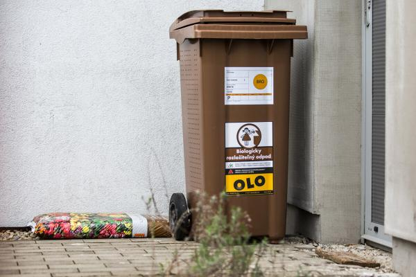 Odvoz biologicky rozložiteľného odpadu z hnedých nádob bude prebiehať od pondelka 1.3.2021