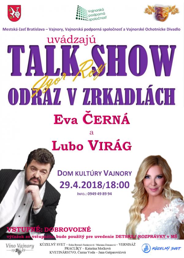 Talk Show 29. apríla 2018