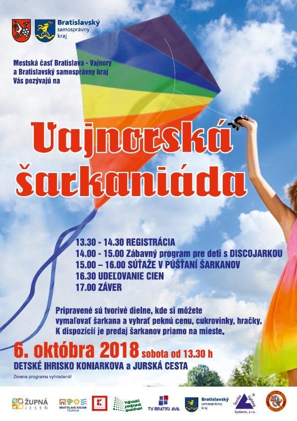 Vajnorská šarkaniáda 6. október 2018