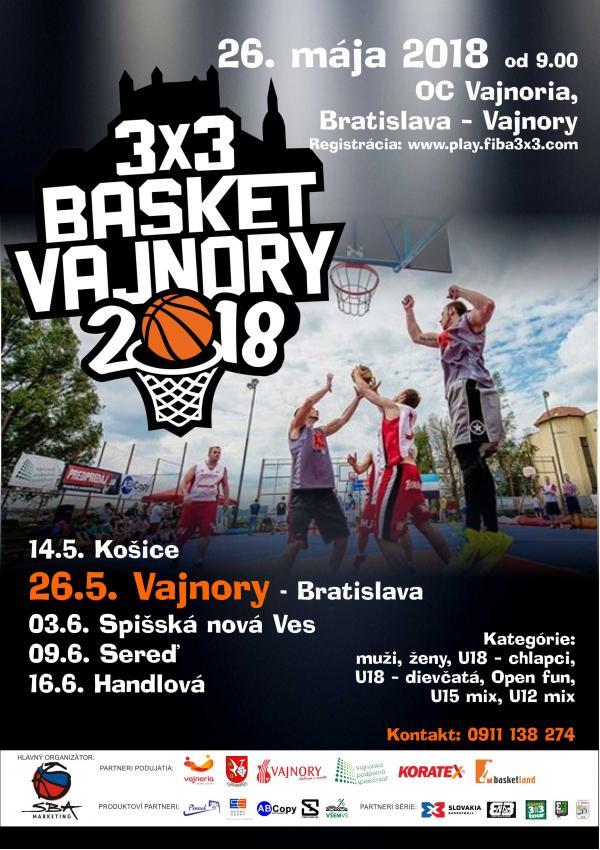 Streetball Vajnory 26. mája 2018