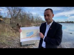 Vysvetlenie starostu Vajnor, Michala Vlčeka k situácii na jazerách vo videu